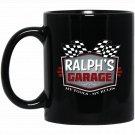 Ralphs Garage Funny Car Guy - My Tools My Rules Black  Mug Black Ceramic 11oz Coffee Tea Cup