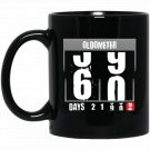Oldometer - Funny 60th Birthday Gifts for Men 60 Bday Gifts (2) Black  Mug Black Ceramic 11oz Coffee