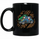 Midget Race Car Racing Black  Mug Black Ceramic 11oz Coffee Tea Cup