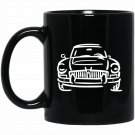MGC GT British Car Racing Love Black  Mug Black Ceramic 11oz Coffee Tea Cup