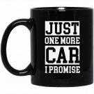 Mens Funny s for Dad - Best Dad Car Lover Black  Mug Black Ceramic 11oz Coffee Tea Cup