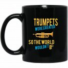 Life would Bb without the Trumpet Black  Mug Black Ceramic 11oz Coffee Tea Cup