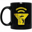 Funny Trombone T Trombonist T Slide Trombone gift Black  Mug Black Ceramic 11oz Coffee Tea Cup