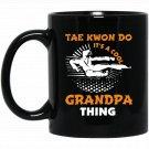 Funny Taekwondo s Black  Mug Black Ceramic 11oz Coffee Tea Cup