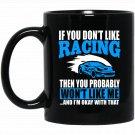 Funny Car Racing Car Enthusiast Gift Black  Mug Black Ceramic 11oz Coffee Tea Cup