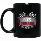 Eds Garage Funny Car Guy - My Tools My Rules Black  Mug Black Ceramic 11oz Coffee Tea Cup