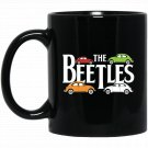 Dicky Ticker The Beetles Vintage British 1960s Car Black  Mug Black Ceramic 11oz Coffee Tea Cup