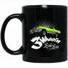 3 Wheeln - Low Rider Car for MenWomenKids Black  Mug Black Ceramic 11oz Coffee Tea Cup