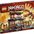 2011 Lego Ninjago Fire Temple 2507