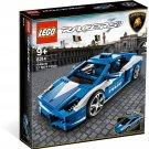 2010 Lego Racers:Lamborghini Gallardo LP 560-4 Polizia 8214