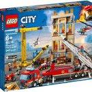 Lego 2019 City:Downtown Fire Brigade 60216