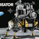 2019 Lego Creator:NASA Apollo 11 Lunar Lander 10266