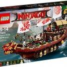 2017 Lego Ninjago:Destiny's Bounty 70618