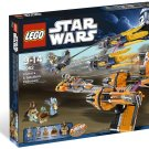 2011 Lego Star Wars:Anakin's & Sebulba's Podracers 7962