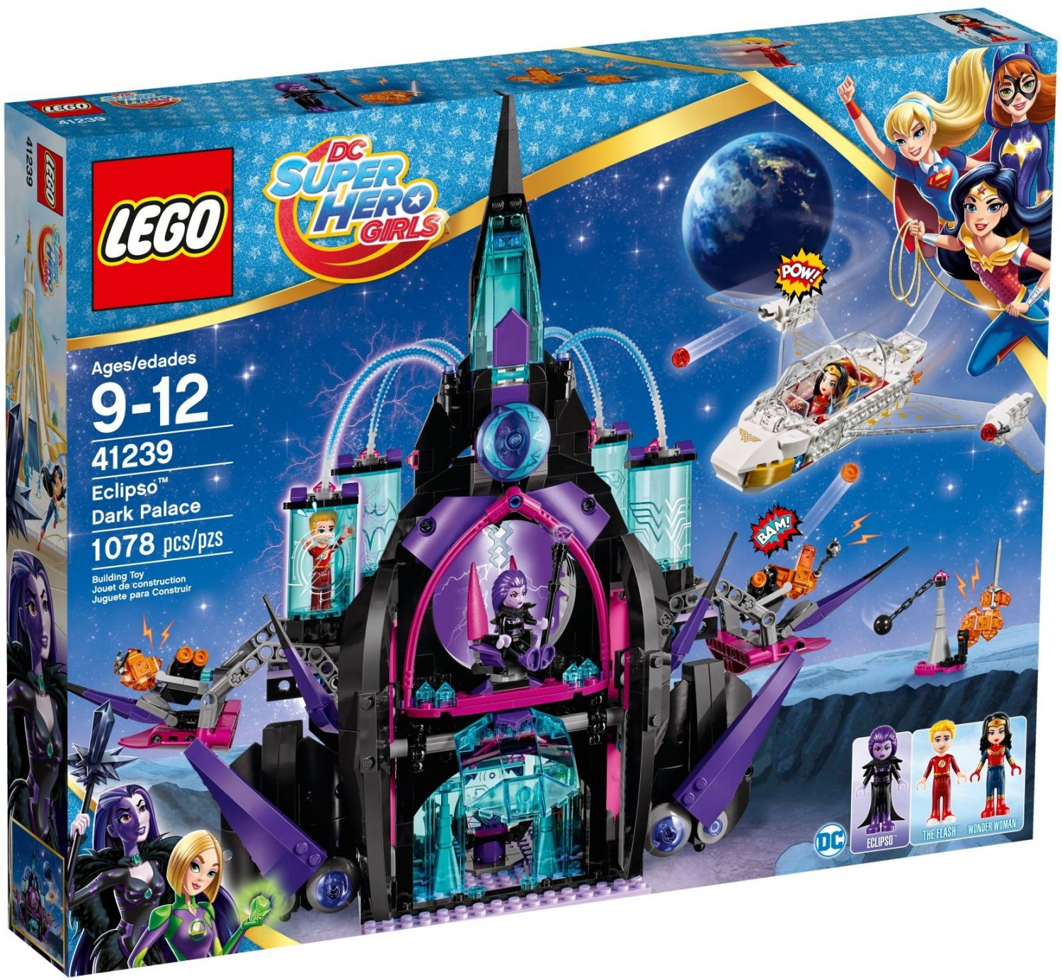 2017 Lego DC Super Hero Girls:Eclipso Dark Palace 41239