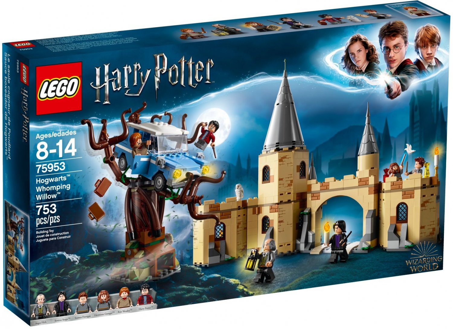2018 Lego Harry Potter:Hogwarts Whomping Willow 75953
