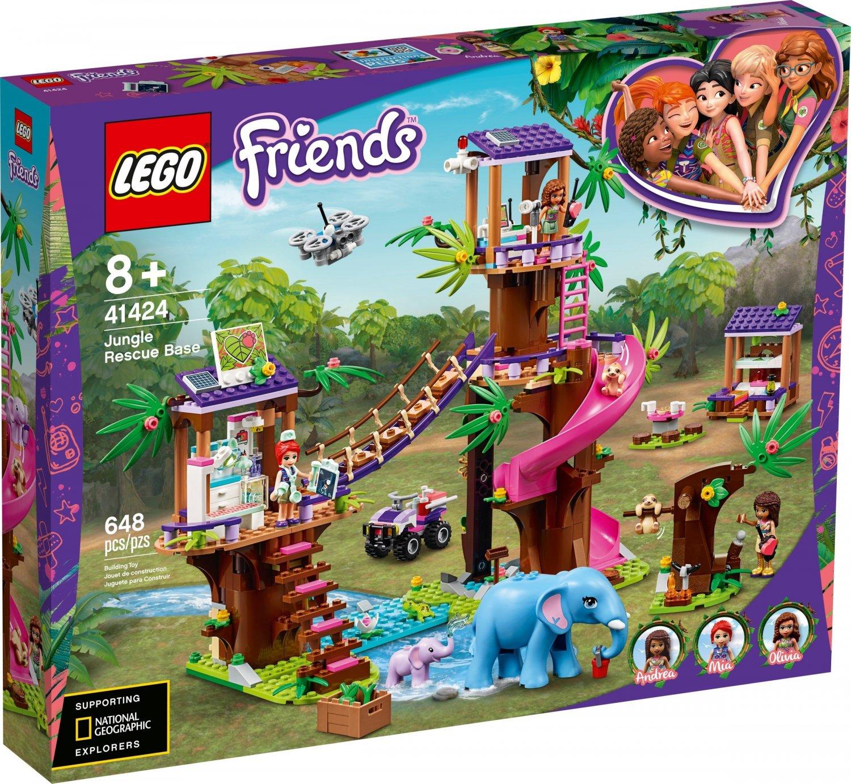 2020 Lego Friends:Jungle Rescue Base 41424