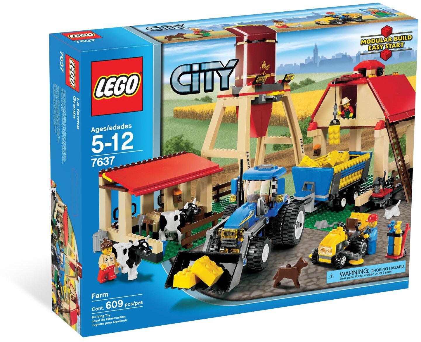 2009 Lego City Farm 7637