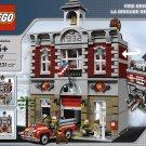 2009 Lego Fire Brigade 10197