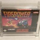 Super Nintendo Firepower 2000 WATA 9.6 A+ Sealed
