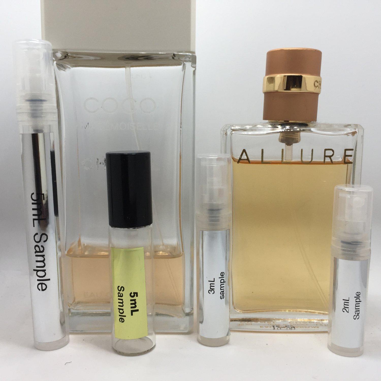 2pc 2mL CHANEL EDT & EDP Travel Sample Mini Spray Atomizer Set