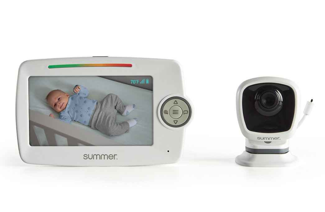 Summer LookOut 5.0 Inch Color Video Monitor with No-Hole PrestoMount