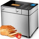 KBS Pro Stainless Steel Bread Machine, 2LB 17-in-1, 3 Loaf Sizes 3 Crust Colors