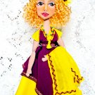 Author's collectible textile doll  «Susan».