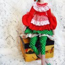 "Collectible textile handmade doll ""Fairy of home comfort""."