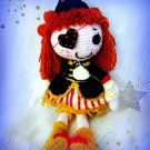 The lovely crocheted Lalaloopsy Doll Pirate Girl.