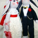 Wedding couple bunnies.