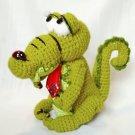 Kind and cute crocodile.