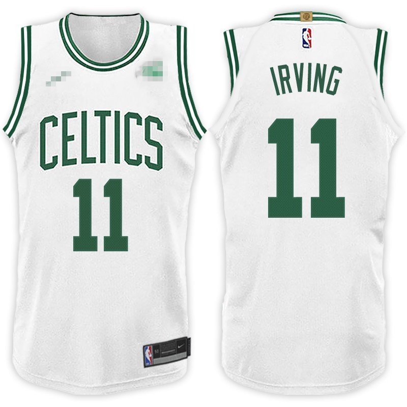 official photos 9c0b7 ca555 Boston Celtics Kyrie Irving Jersey 11 Stitched Men ...