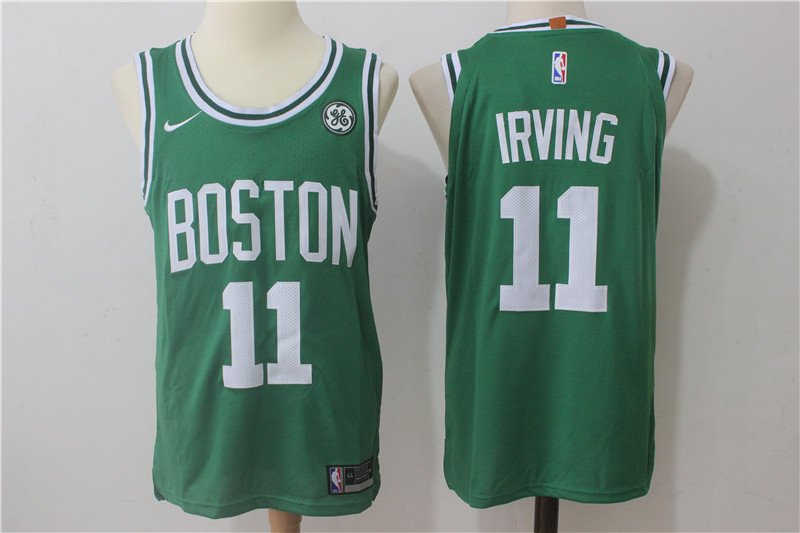 Youth Boston Celtics #11 Kyrie Irving Green Basketball Jersey