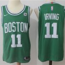Youth Boston Celtics #11 Kyrie Irving Green Basketball Jersey