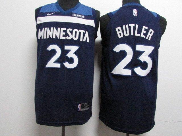 Youth Minnesota Timberwolves Butler 23 Blue Basketball Jersey