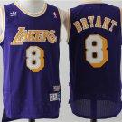 Los Angeles Lakers #8 Kobe Bryant Purple Basketball Jersey