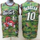 Raptors #10 Demar Derozan Camouflage Basketball Stitched Jersey