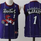 Youth Toronto Raptors 1 Tracy McGrady Stitched Purple Basketball Jersey