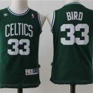 Youth Boston Celtics #33 Larry Bird Green Basketball Jersey