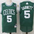 Boston Celtics Kevin Garnett #5 Green Swingman Basketball Jersey