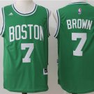 Boston Celtics Brown Jersey #7 Green Basketball Jersey