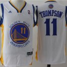 Golden State Warriors #11 Klay Thompson White Basketball Jersey