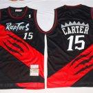 Toronto Raptors Vince Carter #15 Black Classics Swingman Stitched Jersey