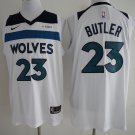 2018 Minnesota Timberwolves 23 Jimmy Butler Basketball Jersey White