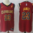 2018 Cleveland Cavaliers 23 LeBron James Basketball Jersey Red
