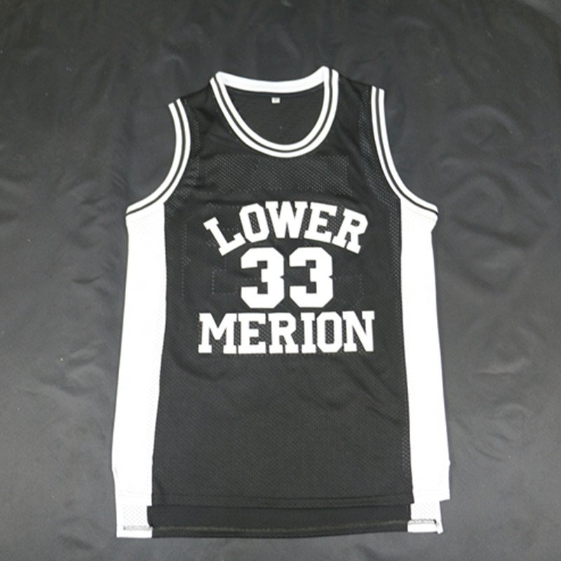 Kobe Bryant #33 Lower Merion High School New Basketball Jersey Black