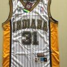 Indiana Peacers Reggie Miller 31# Basketball jersey