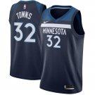 Minnesota Timberwolves 32 Karl-Anthony Towns Basketball Stitched Jersey Blue
