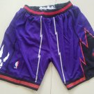2018 Toronto Raptors Nike Icon Swingman Basketball NBA Shorts – Purple